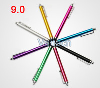 5000pcs Capacitive Metal Stylus Pen touch screen pen for iphone 5 5g 3gs 4 4g 4s ipod touch HTC One Huawei LG P970