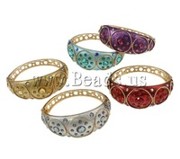 Free shipping!!!Zinc Alloy,dream,bridesmaids jewelry, gold color plated, with glass rhinestone & enamel & with rhinestone