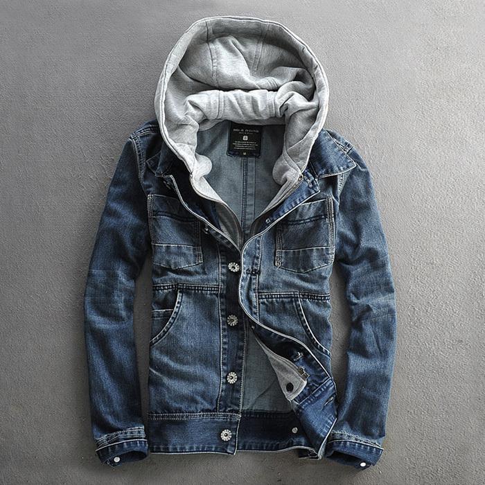 Джинсовую Мужскую Куртку На Молнии Купить В