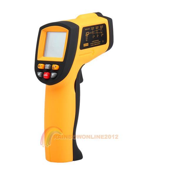 R1B1 Non-Contact IR Infrared Thermometer Laser Gun GM900(China (Mainland))