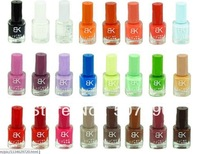 free shipping Factory outlets Wholesale 6pcs authentic BK nail polish new color fragrant 18 seconds quick-drying (1-42color)