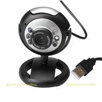 Hot sale 8.0 Mega 30 M USB 6 LED Webcam Web Cam Camera Laptop Computer With Mic New #QbO