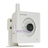 NI5 Wireless Audio 21 LED Camera Night Vision Security Webcam White WiFi Network