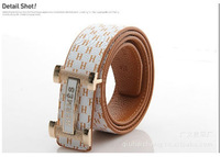 High Quality! 2013 New Fashion Men Clothes Accessories Genuine leather Black Casual Belt Free Shipping PD035