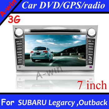 3G Car DVD GPS Navi Radio  For SUBARU Legarcy /Outback Car Audio with 3G/3D GPS/6 disc memory/TV/Radio/iPod/BT/USB/SD