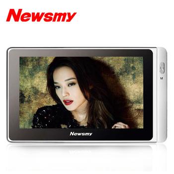 Metal ultra-thin newman a51hd 8g 5 mp4 touch screen player hd mp5 electronic
