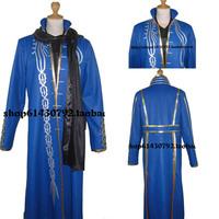 Devil May Cry 4 DMC4 Vergil cosplay costume coat full set