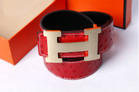 High Quality! 2013 New Fashion Men Clothes Accessories Genuine leather Black Casual Belt Free Shipping PD039