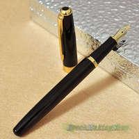 Buy 2 get 1 for free BAOER 388 Black and golden  High-grade Fountain Pen