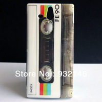 Magnetic Cassette TAPE HARD SKIN COVER CASE FOR SONY Xperia U ST25i + LCD SCREEN