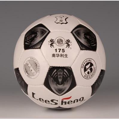 Lisheng genuine leather football 175(China (Mainland))