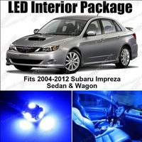 Free Shipping 6x LED Lights Interior Package Kit for Subaru Impreza