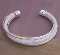 Wholesale 925 Silver Dreamlike Bangle Bracelet Free Shipping 925 Jewelry,925 Sterling Silver  Bracelet YAS121