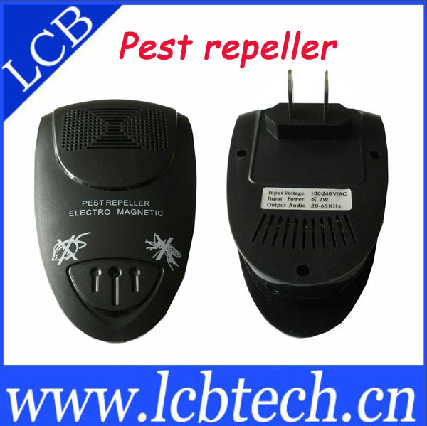 10pcs/lot electronic ultrasonic wave mosquito repeller,pest repeller free shipping(China (Mainland))