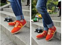 Summer new Korean fashion matte leather shoes everyday casual British fashion shoes men shoes per referral Kangaroo Martin