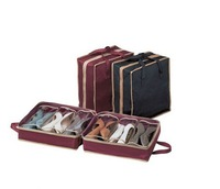 shoes tote  shoe organizer bag handy organizer bag  travel shoes tote AS SEEN ON TV 2013 new without color box