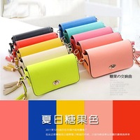 Candy color bags women's bag mini 2013 cross-body bag women's handbag messenger bag