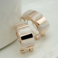 Fashion fashion stud earring ol - eye all-match elegant clip-on earrings accessories in ear female quality
