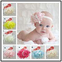 12pcs/lot New Fashion Pearl Children Headbands Beautiful Baby Girl Headbands Child Headwear Kids Hair Accessories