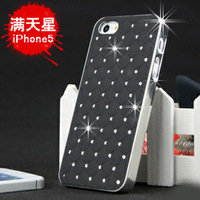 For iphone   5 mantianxing phone case  for apple   5 protective case rhinestone mobile phone case protective case