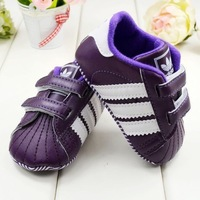 Factory direct sale. Baby shoes foreign trade. baby shoes. Stripe toddler shoes. Baby soft bottom shoes. purple sneakers