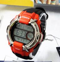 FREE SHIPPING Xonix submersible running sports watch digital mens watch waterproof 100 meters co