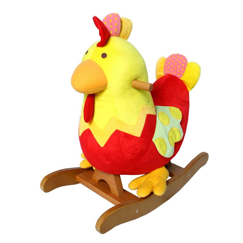 Red-rocking-horse-rollaround-horse-trojan-child-gift-wooden-horse-toy ...
