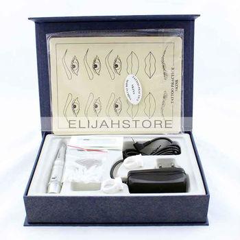 Professional Eyebrow Lip Tattoo Makeup Tool Kit Tattoo Machine WM-8010 SG Post Free