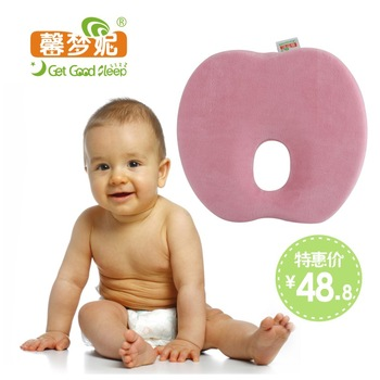 New-born baby shaping flat toe cap cotton memory pillow