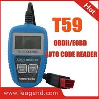 2013 best seller OBD2/EOBD car code reader vehicle scan tool T59