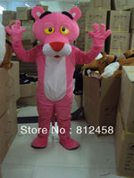 Pink Panther Adult Size Lovely Mascot Costumes Halloween Costume Fancy Dress Suit Free Shipping