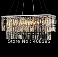 Free Shipping Fashionable Modern Brief Crystal Pendent Light