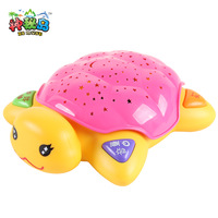 Baby baby pre-teaching preschool puzzle playright turtle projection story machine child educational toys