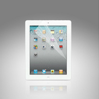 For iPad2 iPad3 new iPad High Transparent Protective Film free shipping