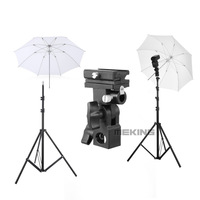 Mouse over image to zoom Light Stand &Flash Bracket Mount & Umbrella / Flash Speedlite Accessories Kit 1