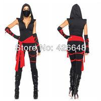 New arrive,Free shipping Sexy Black Ninja Cosplay costumes