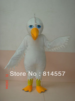 White Eagle OwL Bird Mascot Costume Halloween gift costume characters Fancy Dress hot sale