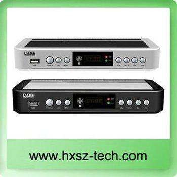 RUSSIA/EUROPE/THAILAND DVB-T2 HD/H.264 Terrestrial Digital TV Receiver Compatible with DVB T, DVB T2 w/ MPEG4 HDMI / SCART