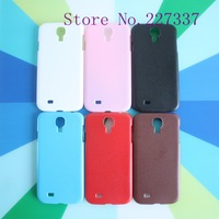 Six Color Hard Back Case Cover for Samsung Galaxy S4 i9500 Wholesale 10pcs/lot