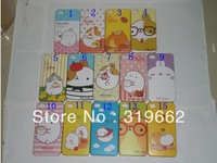 Wholesale Rabbit Plastic Case Back Hard Cover Housing For Apple iPhone 4 /4S Free Shipping Factory Price