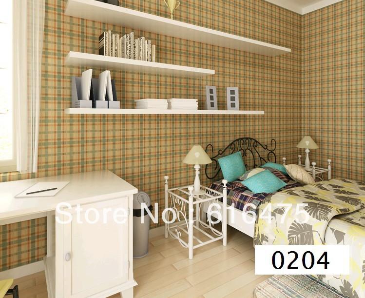 Geweven moderne minimalistische mazen slaapkamer woonkamer male maiden van kinderen behang 0204 - Moderne woonkamer behang ...