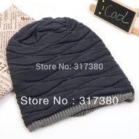 Wholesale 10pcs Winter Men Beanie Women Baggy Hat Knitting Oversized Beanies Hats Mens Knitted Skullcap Womens Autumn  Knit Cap