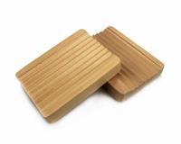 Big soap box soap box wave natural wood grain wooden handmade soap box rack wool soap