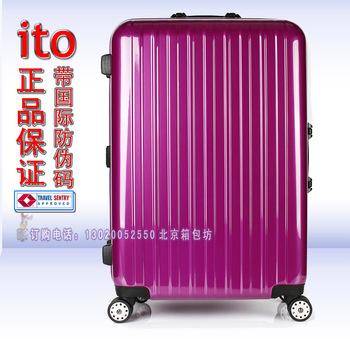 """ITO high quality fashion 8 universal wheels TSA lock trolley luggage travel bag luggage bags 20""""24""""28"""""""