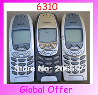 6310 Original Unlocked NOKIA 6310 mobile phone Dualband Bluetooth Classic Cheap Cell phone refurbished 1 year warranty