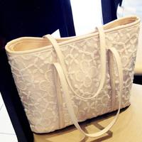 Bags 2013 women's handbag small fresh big bag lace bag crochet handbag messenger bag