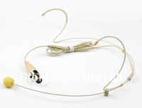 BE-S40A BEIGE COLOR DUAL HOOK HEADSET MICROPHONE FOR SAMSON AND A-K-G WIRELESS SYSTEM XLR mini 3PIN