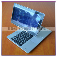 New Arrival 11.6 Inch 360 Degree Rotating Touch Screen Laptop With Intel Celeron Dual Core CPU 2G RAM 500G HDD Win8 OS Bluetooth