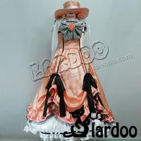 Xaar women's evening dress female cosplay full set customize women's