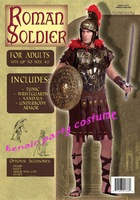 Free shipping 2013 new style roman soldier costume party halloween costume grim reaper + fast deliver exotic apparel
